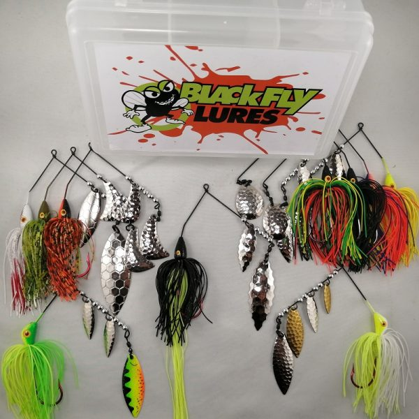 package with top selling bass lures