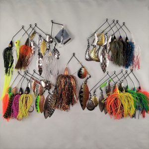 Large package with top selling bass lures