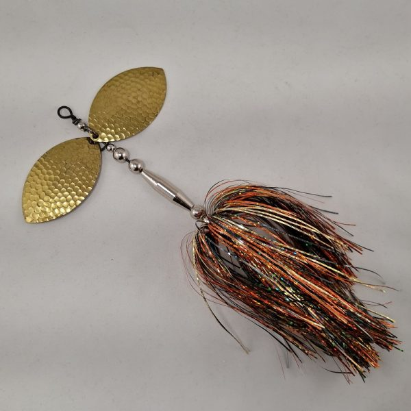 Fall Craw inline spinner with double 8 blades